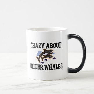 Crazy About Killer Whales Mugs