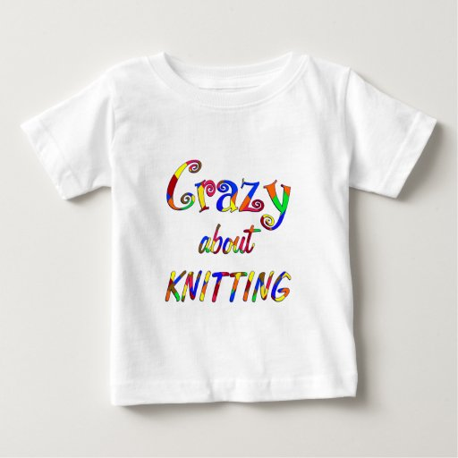 Crazy About Knitting Tshirt