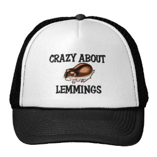 Crazy About Lemmings Hats