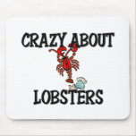 Crazy About Lobsters Mouse Mats