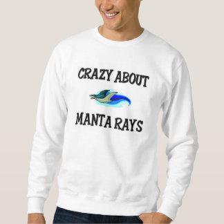 Crazy About Manta Rays Sweatshirt