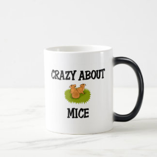 Crazy About Mice 11 Oz Magic Heat Color-Changing Coffee Mug