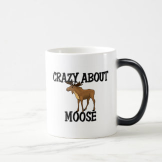 Crazy About Moose 11 Oz Magic Heat Color-Changing Coffee Mug