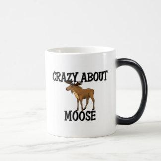 Crazy About Moose Magic Mug