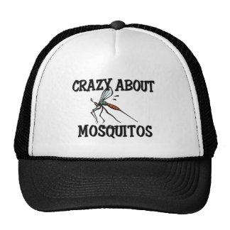 Crazy About Mosquitos Trucker Hat