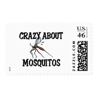 Crazy About Mosquitos Stamps