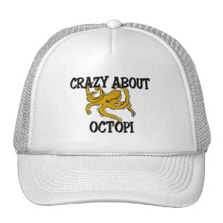 Crazy About Octopi Trucker Hat