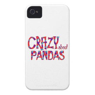Crazy About Pandas Case-Mate iPhone 4 Case