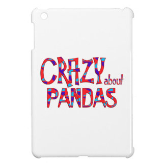 Crazy About Pandas iPad Mini Covers
