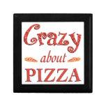 Crazy About Pizza Trinket Box