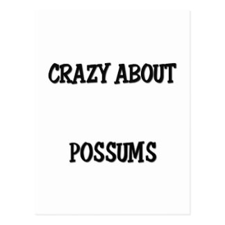 Crazy About Possums Postcard