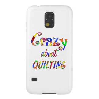 Crazy About Quilting Galaxy S5 Covers
