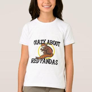 Crazy About Red Pandas T-Shirt