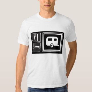Crazy about RVing! Eat.Sleep. RV! T Shirt