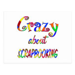 Crazy About Scrapbooking Postcard