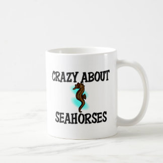 Crazy About Seahorses Classic White Coffee Mug