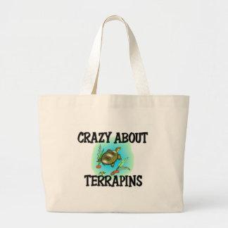 Crazy About Terrapins Canvas Bag