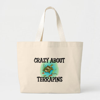 Crazy About Terrapins Tote Bag