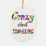 Crazy About Traveling Ornaments