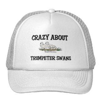 Crazy About Trumpeter Swans Trucker Hat