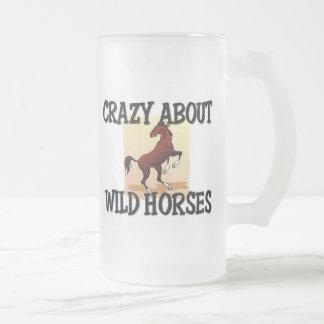 Crazy About Wild Horses Mug