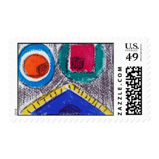 crazy about you postage stamp
