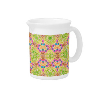 Crazy Abstract Beverage Pitcher