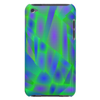 Crazy Abstract Colors iPod Touch 4 Cover Barely There iPod Cases