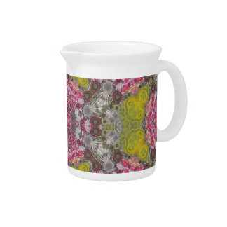 Crazy Abstract Drink Pitcher