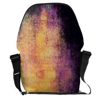 Crazy Abstract Messenger Bag New Grunge Vintage