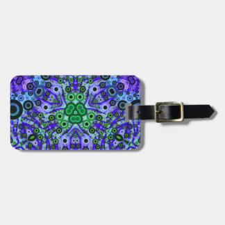 Crazy Abstract Pattern Luggage Tag