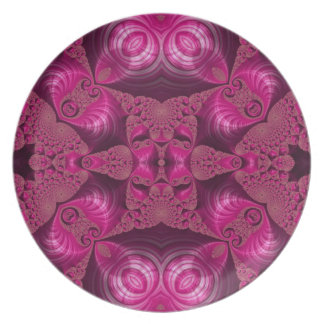 Crazy Abstract Dinner Plates