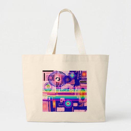 Crazy Abstract Pop Art bag