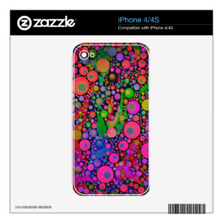 Crazy Abstract iPhone 4 Skin