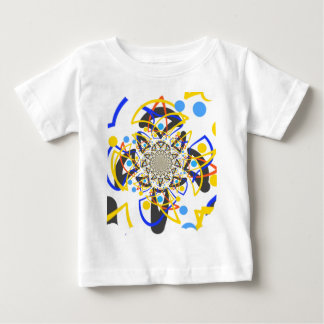 Crazy abstracy design baby T-Shirt