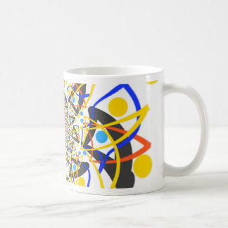 Crazy abstracy design coffee mug