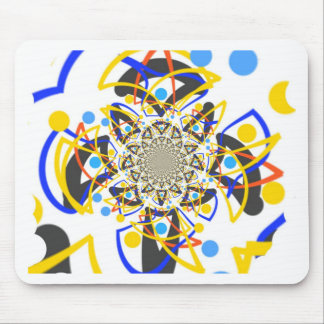 Crazy abstracy design mouse pad