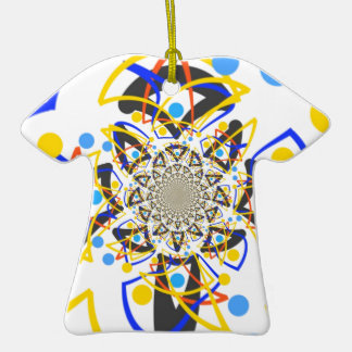Crazy abstracy design christmas ornaments