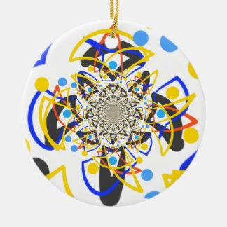 Crazy abstracy design ornament