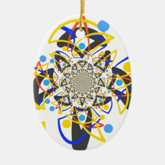 Crazy abstracy design ornaments