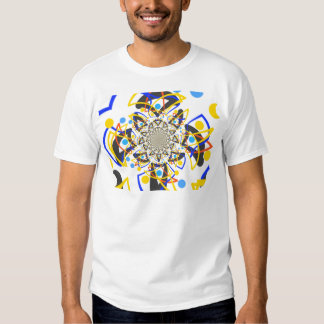 Crazy abstracy design tee shirt