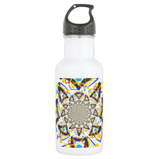 Crazy abstracy design water bottle