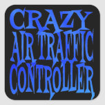 Crazy Air Traffic Controller Stickers