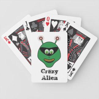 Crazy Alien Card deck