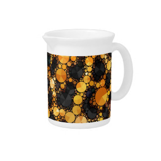 Crazy Animal Print Abstract Beverage Pitchers
