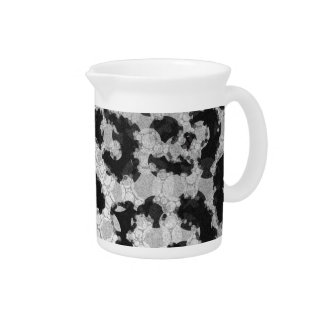 Crazy Animal Print Abstract Drink Pitchers