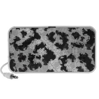 Crazy Animal Print Abstract Mp3 Speaker