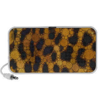 Crazy Animal Print Abstract PC Speakers