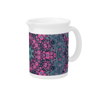 Crazy Animal Print Abstract Pitchers