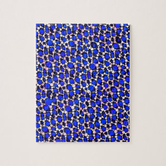 Crazy Animal Print Abstract Puzzle